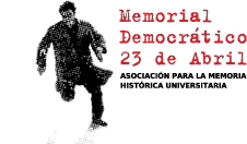 logo memorial democr�tico 23 de abril